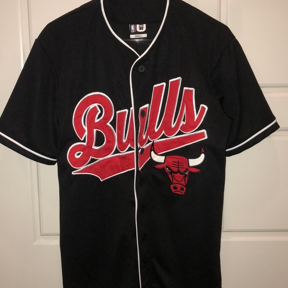 low priced bf975 17ab6 Men's Chicago Bulls baseball jersey